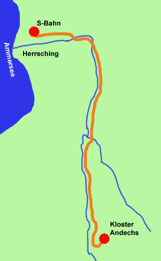 Kiental-Wanderkarte
