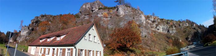 Felsen bei Weihersmühle