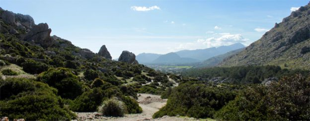 Gebirge Serra de Tramuntana