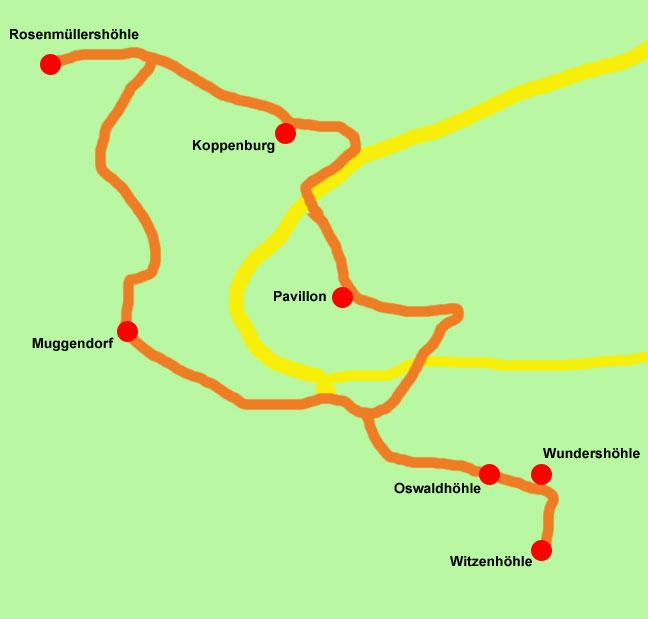 Muggendorf-Wanderkarte