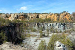 Steinbruch bei Ludwag