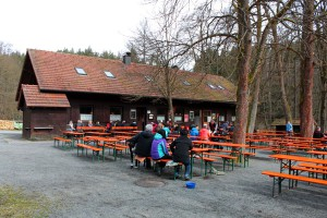 Blockhütte Waldnaabtal