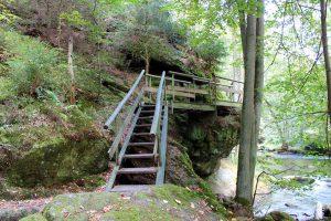 Treppe Uferweg