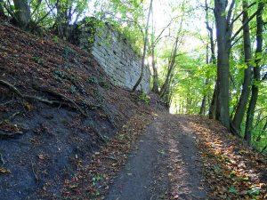 Schloßberg Ringmauer